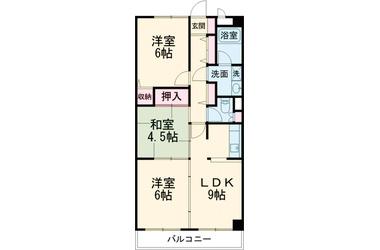 エステートショーワ 5階 3LDK 賃貸マンション