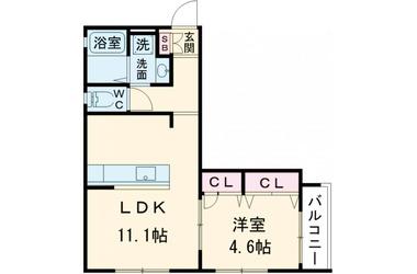 中板橋 徒歩6分 2階 1LDK 賃貸アパート