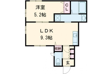 田園調布 徒歩7分 1階 1LDK 賃貸アパート