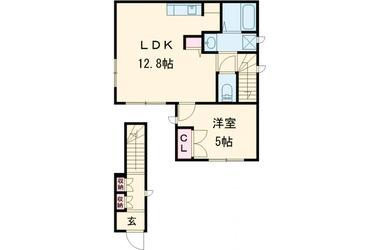 田園調布 徒歩7分 1-2階 1LDK 賃貸アパート