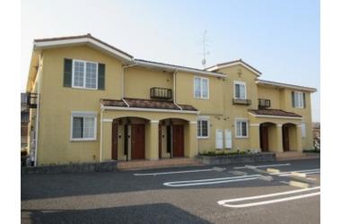 メゾン・ドゥ・ソレイユ B 2階 2LDK 賃貸アパート