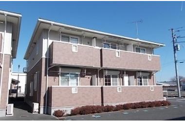 ドミールパストラルC 2階 1LDK 賃貸アパート