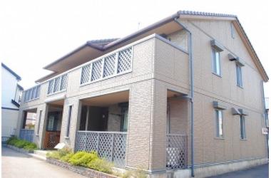 江曽島 バス5分 停歩8分 1階 2LDK 賃貸アパート