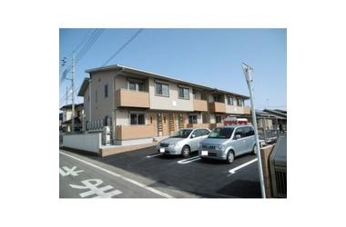 ハピネスA 2階 2LDK 賃貸アパート