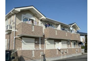 サニーフラット 2階 1LDK 賃貸アパート