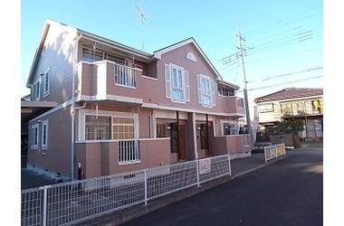 サングローブB 2階 2LDK 賃貸アパート
