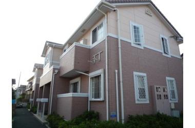アジュールB 2階 2LDK 賃貸アパート