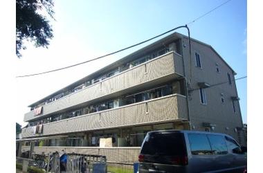谷塚 徒歩17分 3階 2DK 賃貸アパート