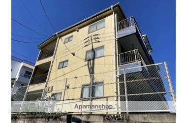 京急田浦 徒歩7分 3階 2DK 賃貸マンション