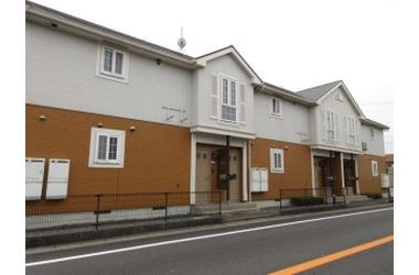 サンシティ臼井D 2階 2LDK 賃貸アパート