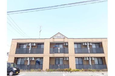 鴻巣 バス18分 停歩2分2階1K 賃貸アパート