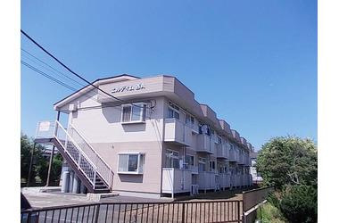 エルディム西A1階2DK 賃貸アパート