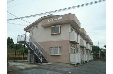 エルディム西B1階2DK 賃貸アパート