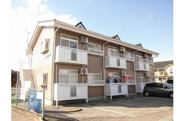 東武宇都宮 バス20分 停歩7分 2階 2DK 賃貸アパート