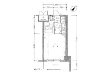 クリオたまプラーザ1番館4階1R 賃貸マンション