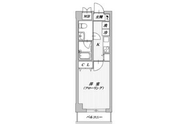 Comodo・I4階1R 賃貸マンション
