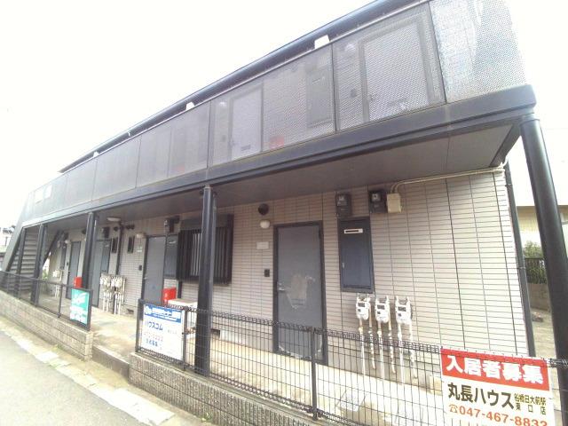 津田沼 バス15分 停歩6分1階1K 賃貸アパート