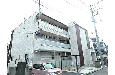 綱島 徒歩15分3階1K 賃貸アパート