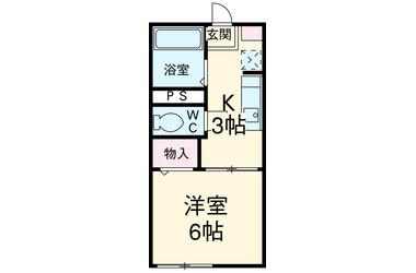 千葉 バス20分 停歩1分 1階 1K 賃貸アパート