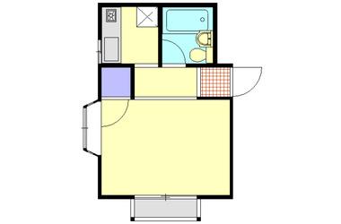 ユニテ大倉山1階1K 賃貸アパート