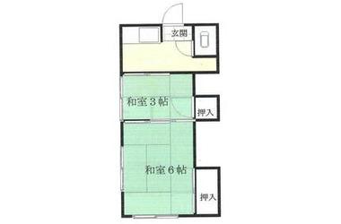 第2みのり荘 1階 1R 賃貸アパート