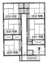 荒井荘 2階 1R 賃貸アパート