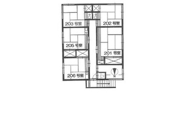 高田馬場 徒歩7分 2階 1R 賃貸アパート