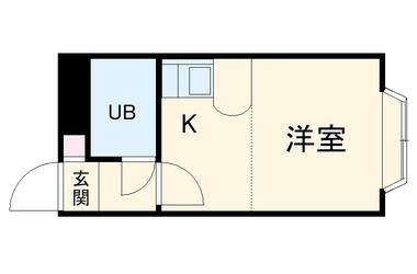 湘南深沢 徒歩5分 1階 1R 賃貸アパート