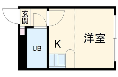 湘南深沢 徒歩5分 2階 1R 賃貸アパート