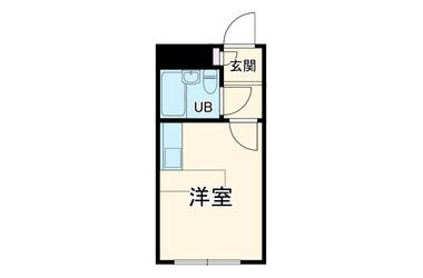 片瀬山 徒歩5分 2階 1R 賃貸アパート