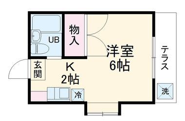 川崎 徒歩22分1階1K 賃貸アパート