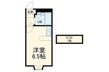 ベルピア常盤平第11-3 1階 1R 賃貸アパート