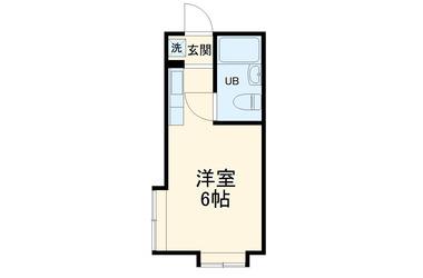 エイペックス新丸子1階1R 賃貸アパート