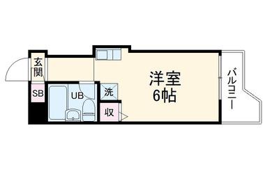綱島 徒歩15分5階1R 賃貸マンション