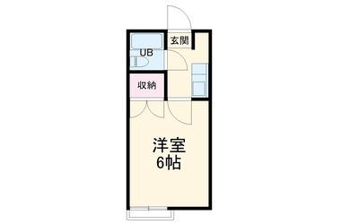 ベルヴュウ茅ヶ崎2階1R 賃貸アパート