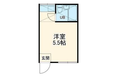 高津 徒歩13分 2階 1R 賃貸アパート