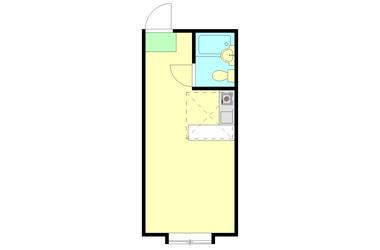 綱島 徒歩22分2階1R 賃貸アパート