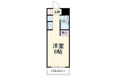 スカイコート日吉21階1R 賃貸マンション