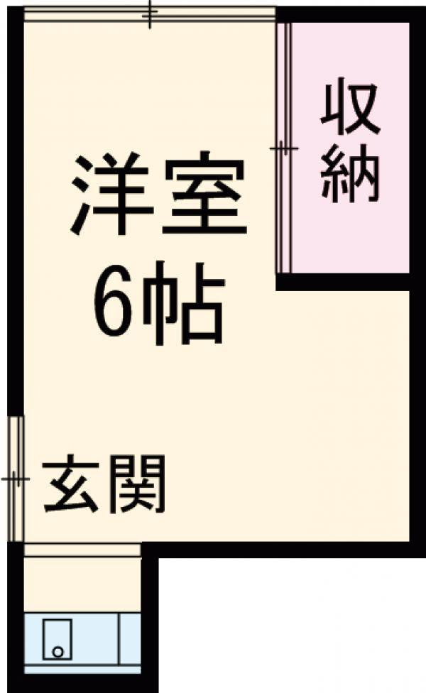 三宿高橋荘2階1R 賃貸アパート