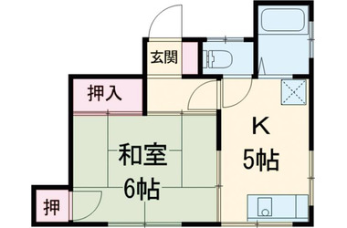 下北沢 徒歩11分3階1K 賃貸マンション