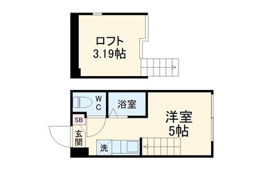 仮称)大曽根2丁目コーポ1階1R 賃貸アパート
