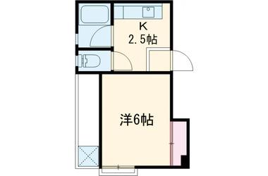 千歳船橋 徒歩8分4階1K 賃貸マンション
