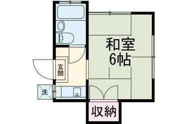 三鷹 徒歩21分2階1R 賃貸アパート