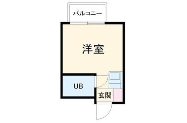 島田ハイツⅡ1階1R 賃貸アパート