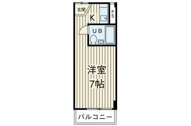 片桐ハイツ2階1R 賃貸マンション