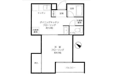 下北沢 徒歩5分3階1DK 賃貸マンション