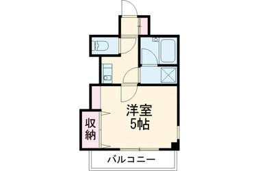 経堂 徒歩14分4階1R 賃貸マンション