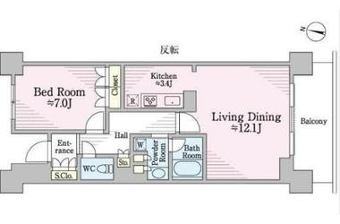経堂 徒歩3分11階1LDK 賃貸マンション