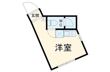 ユナイト白楽マッケンロー1階1R 賃貸アパート