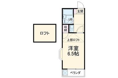 新田 徒歩18分 1階 1R 賃貸アパート
